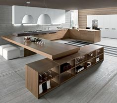 Stunning Minimalist Kitchen Design Trends Related posts:Fast growing plantsColorful environment, simple and natural decor . Leyla lady's house new design. Kitchen Furniture, Kitchen Interior, Kitchen Decor, Kitchen Ideas, Interior Exterior, Kitchen Tables, Kitchen Trends, Diy Kitchen, Kitchen Knobs
