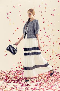 Alice + Olivia | Resort 2014 Collection | Accordingly, the new collection mixed together some of the whimsical pieces we've come to expect from A+O with ones that felt decidedly grown-up for the contemporary brand.