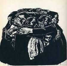 The Mothers - Kathe Kollwitz - - Expressionism, 1922 Harlem Renaissance, Kathe Kollwitz, Art Brut, Famous Art, Monochrom, Wood Engraving, Linocut Prints, Woodcut Art, Art History