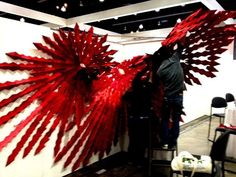 Twitter / DwellonDesign: Don't miss this unique installation by @woodbury_soa at @DwellonDesign