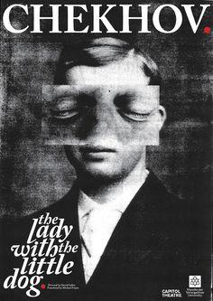 Chekhov 'The Lady With The Little Dog' by Jon Hannan, via Behance