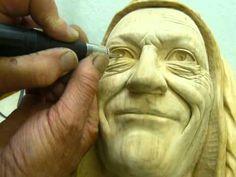 Wood Carving with Ian Norbury - Thirteen - Eyes