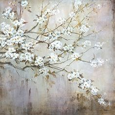 Portfolio Canvas Decor Printed Wall Art Painting Large White Elegance by Carson ** Find out more about the great product at the image link. Painting Frames, Painting Prints, Floral Paintings, Canvas Frame, Canvas Wall Art, Tree Canvas, White Elegance, Flower Canvas, Arte Pop