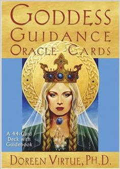 Goddess Oracle Deck by Doreen Virtue.I have these and they're truly beautiful.