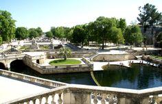 Les Jardins de la Fontaine, héritage du XVIIIème siècle, constituent l'un des jardins remarquables de France Le Gard, Pont Du Gard, France, Spaces, Camargue, Tourism, Places, French Resources
