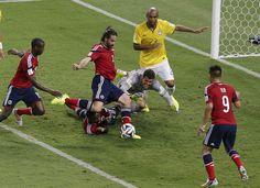 Mejores momentos Selección Colombia | Colombia vs Brasil (Brazil) 28-06-2014  ¡SÍ ERA GOL VIDA HIJUEPUTA! *sin superarlo todavía*