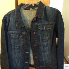 Denim Jacket Blue Denim a Jacket Jackets & Coats Jean Jackets