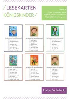 Lesekarten zum Ankreuzen – DaZ / DaF, Deutsch Cover, Illustration, Layout, Sentence Building, Spelling, Play Based Learning, Pictorial Maps, Social Networks, Grammar
