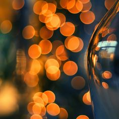 light bokeh #orange
