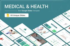 Medical and Health Google Slides template for presentation reduces your work by supplying templates designed with busy entrepreneurs in mind. With 65 fully editable slides, the Pitch Deck Bundle provides you with the template you need to deliver...