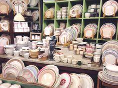Vintage tableware shop in NYC #2