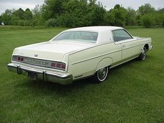 1974 Mercury Marquis Retro Cars, Vintage Cars, Vintage Auto, Mercury Marquis, Edsel Ford, Mercury Cars, Ford Ltd, Grand Marquis, Us Cars