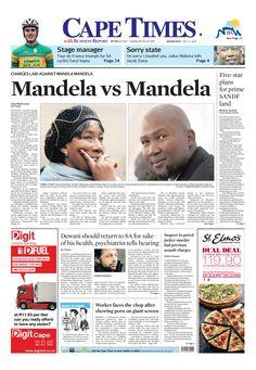 News making headlines: Mandela VS Mandela