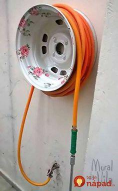 Po výmene kolies nechal manžel v garáži staré disky: Žena sa ich chcela zbaviť, no potom prišla s geniálnym plánom, ako ich využiť v záhrade!