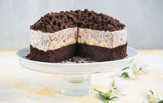 Čokoládovo-banánová torta Lidl, Tiramisu, Cake, Ethnic Recipes, Sweet, Desserts, Food, Google, Cake Ideas