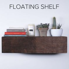 Woodworking Diy Projects By Ted - Floating Shelf : switch so front of shelf is the drawer front and the top is fixed. Interesting idea for floating closet or dining room storage. Get A Lifetime Of Project Ideas & Inspiration!