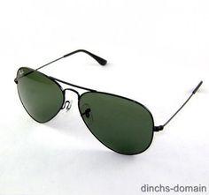 fa473b8c7f96f New Ray Ban Aviator Sunglasses 3026 L2821 Black RB 62-14