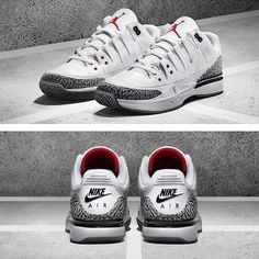 wholesale dealer 362d6 df366 Nike Jordan Federer Air Jordan 3, Sneakers Nike, Bananen, Jordans, Tennis,