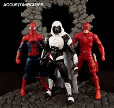 Moon Knight (Shalvey/Ellis Style) (Marvel Legends) Custom Action Figure