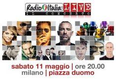 Radio Italia Live: i big della musica italiana in piazza a Milano