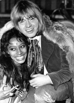 Donyale Luna & Brian Jones, 10 Dec 1968
