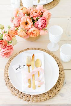 Gorgeous Spring Brunch styled by The TomKat Studio in partnership with Dare Foods | See more photos, ideas, recipes and download free printable designs on the blog!   #sponsored by Dare Foods