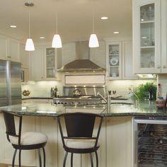 Granite Countertop Tile Backsplash Verde Design Ideas, Pictures, Remodel, and Decor
