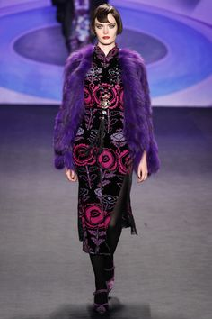 Anna Sui / Fall 2014 RTW / Style.com / Sui's RTW always looks like haute couture to me.