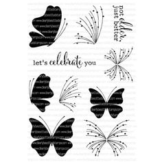 Clearly Besotted A BETTER YOU Clear Stamp Set