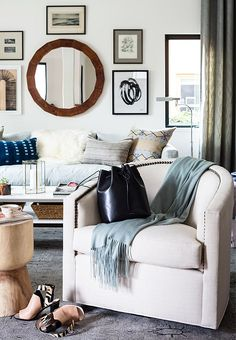 How to Get the Living Room of Your Dreams