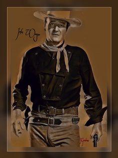 John Wayne Wife, My Childhood, Cowboys, Westerns, Basement, Action, Hero, Wall Art, Stars