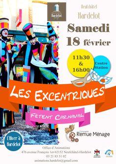 #Carnaval #Hardelot #plage #affiche