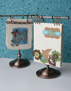 scrapbook displays