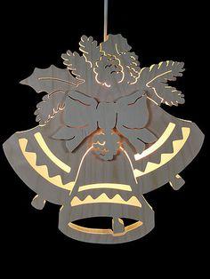 Fensterbild - Drei Glocken - Durchm. 30,5cm von Michael Müller