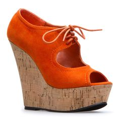 Lace Up Orange