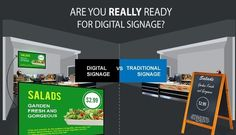 """You're not Ready for Digital Signage If... - Think you have digital signage, read this article and learn why your digital display is not digital signage! Where do restaurateurs, chefs and bar owners Find, Compare and Connect with needed technology? At the Restaurant Software List website with a complete directory of technology solutions and providers at http://www.restaurantsoftwarelist.com/! Need help finding the right POS solution? Download the Free E-Book """"Find the Best POS for Your…"""