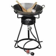 Academy - Outdoor Gourmet Propane Fryer Wok Package