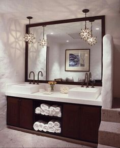 Superbe His And Hers Bathroom Laundry Room Bathroom, Bathroom Vanities, Bathroom  Ideas, Simple Bathroom