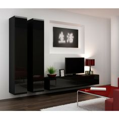 Seattle 16 - Modern Wall Units - LIVING ROOM IdeaForHome