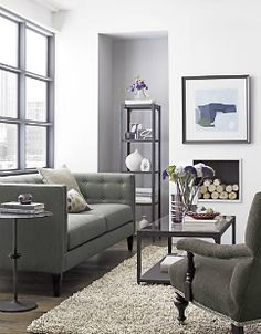 Knockout Knockoffs: Crate & Barrel's Aidan Sofa Space