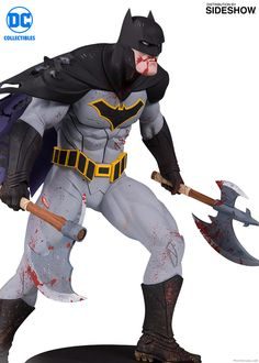 DC Comics Metal Batman Statue by DC Collectibles | Sideshow Collectibles