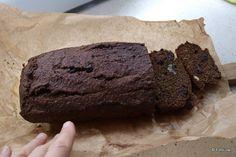 iw-kulinarnie: Bananowiec vel chlebek bananowy z mąki żytniej, pr...