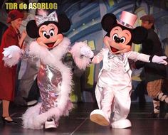 Mickey & Minnie on One Man's Dream show at Tokyo Disneyland