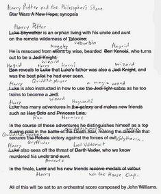 Similarities Between Harry Potter and Star Wars