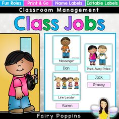These back to school printables help you to get your classroom organized. The editable visual timetable, book covers and jobs chart are very useful tools. Preschool Classroom Schedule, Classroom Job Chart, Classroom Jobs, Free Preschool, Preschool Worksheets, Preschool Ideas, Classroom Organization, Teaching First Grade, Teaching Kindergarten