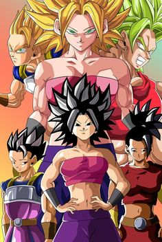 Caulifla, Kale, and Cabba