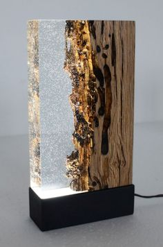 Image result for resin light sculpture