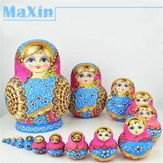 Russian Dolls on Pinterest | Matryoshka Doll, Dolls and Russian Folk ...