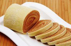 """How to Make Brazilian Rocambole - """"Bolo de Rolo"""" Rolled Cake."""
