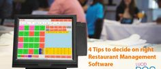 4 TIPS TO DECIDE ON BEST RESTAURANT MANAGEMENT SOFTWARE  No matter whether you own a fine dining restaurant or a fast food outlet, there is nothing like ensuring smooth functioning of the establishment. Probably the smartest solution that any fast, formal or casual restaurant enterprise can adopt is a genuine and well customized restaurant management software solution. While this might seem like an avoidable investment, most smart entrepreneurs would… READ MORE